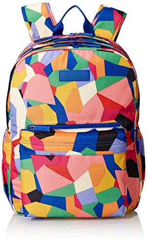 Vera Bradley Lighten Up Grande Laptop Backpack, Pop Art, One Size