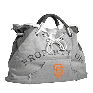 San Francisco Giants Hoodie Tote Bag by Little Earth