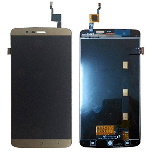 LCD Display Touch Screen Glass Digitizer Assembly for Elephone P8000 Golden