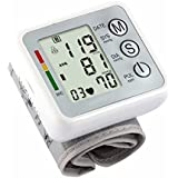 Fund Wrist Digital Blood Pressure Monitor With 99 Memory Capacity Two User Modes For Systolic Irregular Pulse...