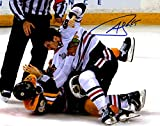 Andrew Shaw Autographed Signed Chicago Blackhawks Stanley Cup Fight 8x10 Photo