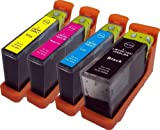 4 x Lexmark L-100XL L-108XL High Capacity Ink Cartridges Compatible for Lexmark Impact S305, S815, Lexmark Interact S605, Lexmark Interpret S405, Lexmark Intuition S505, Lexmark Pinnacle Pro 901, Lexmark Platinum Pro 905, Lexmark Prestige Pro 805, Lexmar