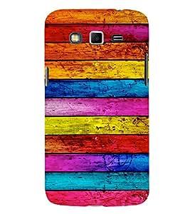 EPICCASE Colorful wood logs Mobile Back Case Cover For Samsung Galaxy Grand 2 (Designer Case)