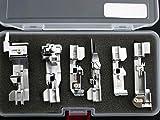 JUKI ジューキ ロックミシン  アタッチメント押え6点セット 対応機種…MO113,MO113D,MO114D,MO333,MO333D,MO344D ,MO345DC