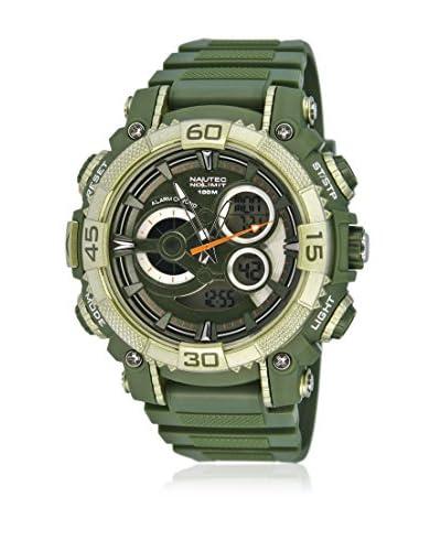 Nautec No Limit Reloj Buffalo Ad Bu Qz-Ad/Pcolpcolbk-Ol Verde Oliva 48 mm