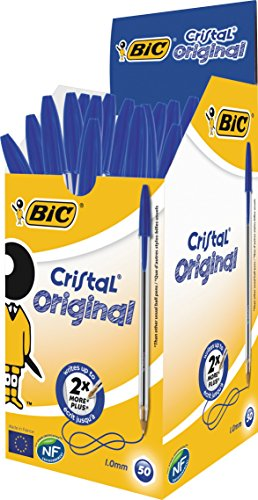 bic-cristal-original-pack-de-50-boligrafos-de-punta-redonda-tinta-azul