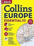 2015 Collins Essential Road Atlas Europe (International Road Atlases)