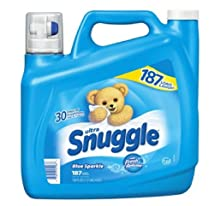 Snuggle Fabric Softener 187 Load/150 Fluid Ounce