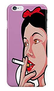 Dreambolic Heroes Snow Smoke Back Cover For I Phone 6