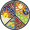 Dan Morris - Peace - Window Sticker / Decal