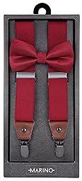 Marino Elastic Fashion Suspenders 1.25\
