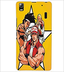 LENNOVO A7000 FIGHTERS Designer Back Cover Case By PRINTSWAG