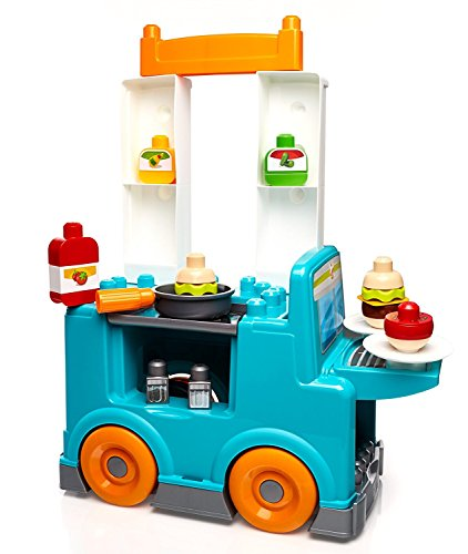 2016 Hot Toy List: Rated Kid-Tested and Parent-Approved (Parents Magazine / Amazon) Mega Bloks First Builders Food Truck Kitchen Building Set
