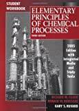 Elementary Principles of Chemical Processes, Student Workbook