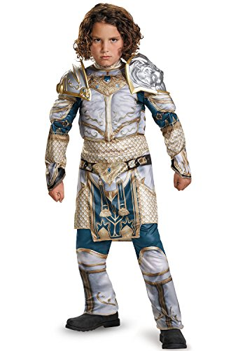 King Llane Classic Muscle Warcraft Legendary Costume