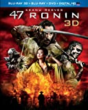 47 Ronin (Blu-ray 3D + Blu-ray + DVD + Digital HD with UltraViolet)