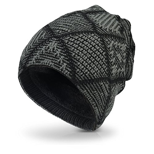 vbiger-unisex-flexible-boina-de-punto-invierno-caliente-gorro-craneo-negro-gris