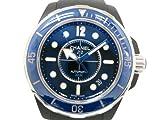 [シャネル]CHANELJ12 マリーン 腕時計 SS/セラミック/ラバー ブラック/ブルー メンズH2561(BF050247)[中古]