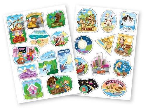 Melissa Doug Trunki Destinations Sticker Pack