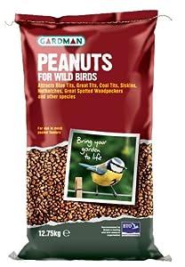 Gardman 12.75kg Peanuts