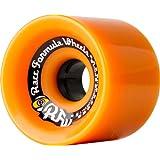 Sector 9 Race Formula Skateboard Wheel, Orange, 69mm 82A by Sector 9