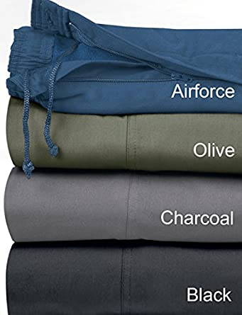 Mens Fleece Lined Elasticated Thermal Draw Cord Leisure Trousers