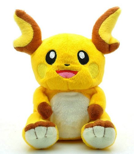 "Pokemon Raichu 7"" Plush Doll Toy Lovely Cute - 1"