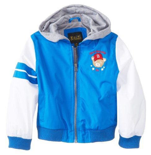 Ixtreme Little Boys Royal Variety Hooded Spring Jacket 2T front-966486