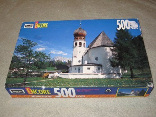 Vintage 1993 RoseArt Encore 500 Piece Jigsaw Puzzle - Oberau, Germany