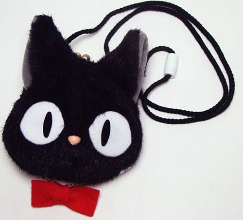 [Coin osumashi Jiji] plushie wallet filled with money earn?! the Witch's home delivery service ☆ Ghibli fully!