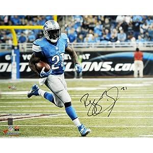 Reggie Bush Detroit Lions Autographed 16