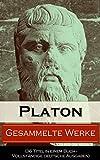 Image de Gesammelte Werke (36 Titel in einem Buch - Vollständige deutsche Ausgaben): Apologie des Sokrates +
