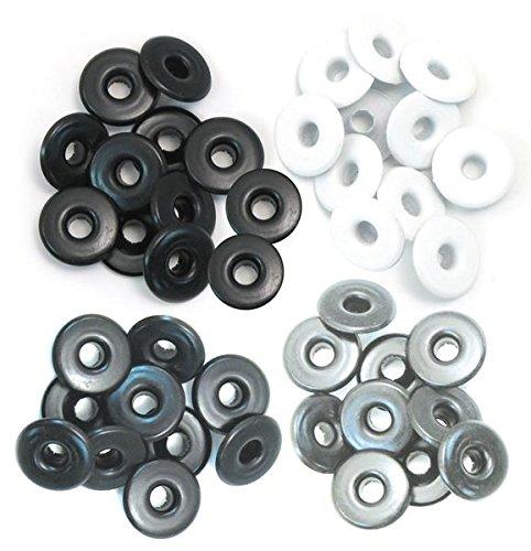 Set de eyelets para Crop a Dile anchos de 0,5cm y tonos fríos ref 41594-7