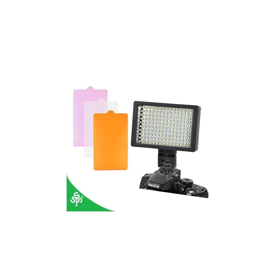 TSSS 160 LED CI 160 Dimmable Ultra High Power Panel Digital Camera / Camcorder Video Light, LED Light for Canon, Nikon, Pentax, Panasonic,SONY, Samsung and Olympus Digital SLR Cameras