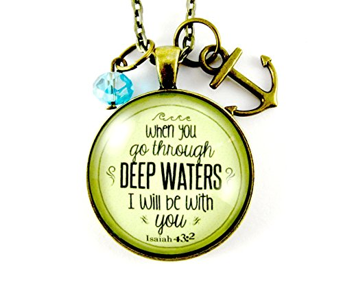 when-you-go-through-deep-waters-isaiah-432-christian-36-necklace-bronze-round-glass-120-vintage-styl