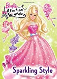 Sparkling Style (Barbie) (Deluxe Coloring Book)