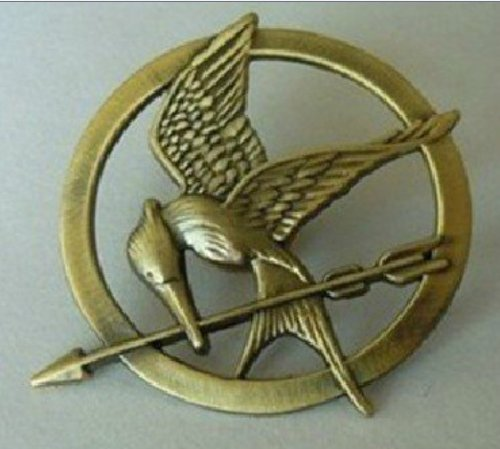 Retro Bronze Hunger Games 2 Seasons Catching