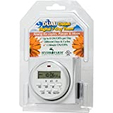 Hydrofarm TM01715D 7-Day Digital Program Timer