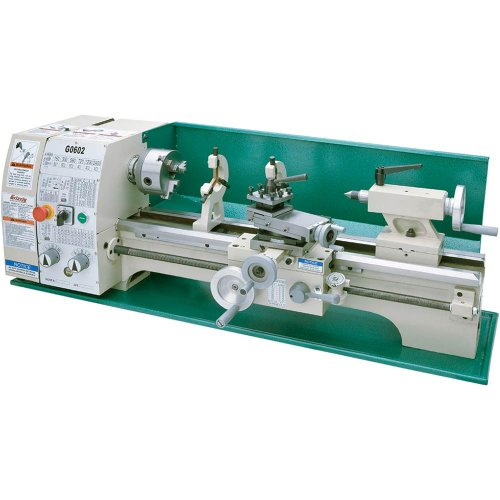 Cheap Grizzly G0602 Bench Top Metal Lathe, 10 x 22-Inch