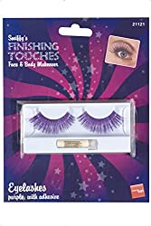 Fever Women's Eyelashes Contains Glue In Display Box, Black, One Size