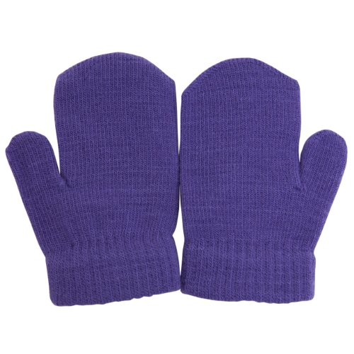 Baby Winter Mittens (One Size) (Purple)
