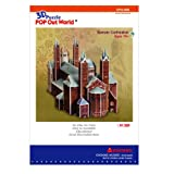 3D Puzzle Speyer Cathedral Architecture Paper Model