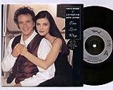 DAVID ESSEX & CATHERINE ZETA JONES - TRUE LOVE WAYS - 7 inch vinyl / 45