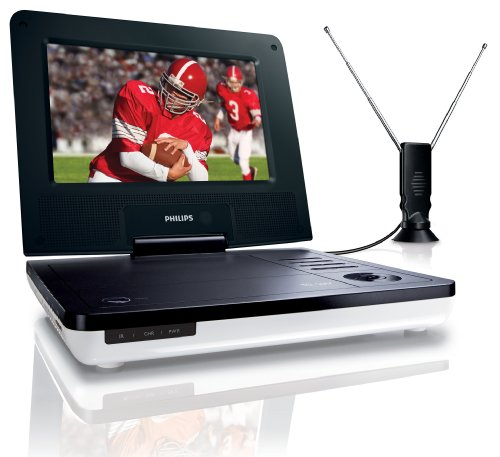 Philips PET729/37 - 7 Inch LCD Portable TV / DVD Player