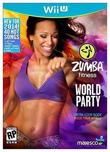 Majesco Zumba Fitness World Party (Game ONLY) - Nintendo Wii U (Refurbished Wii Console Only compare prices)
