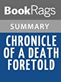 Chronicle of a Death Foretold, by Gabriel García Márquez | Summary & Study Guide