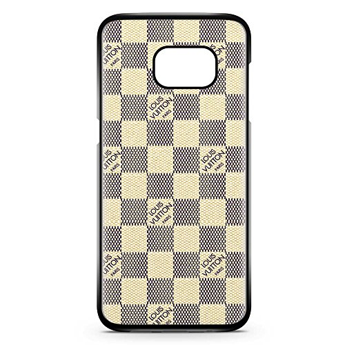 Gebleg-The best luxury black and white pattern For Samsung Galaxy S7 Case Black Hard Plastic Case (Louis Vuitton Samsung compare prices)