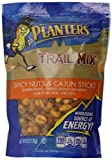 Planters Trail Mix, Spicy Nuts & Cajun Sticks, 6-Ounce Pouches (Pack of 6)