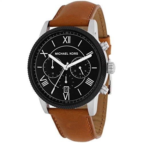 6029846246668 Michael Kors MK8394 42 mm de acero inoxidable para hombre marrón funda DE  para hombre reloj