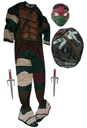 Rubies Raphael Teenage Mutant Ninja Turtles Costume & Sai [888974 + NE23]